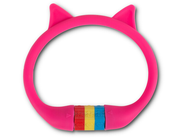 Cube RFR HPS Zahlenkabelschloss Cat pink